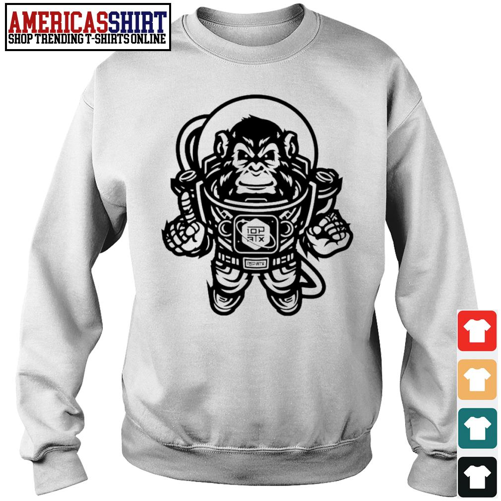 10th Planet Austin Space Ape Jiu Jitsu s sweater