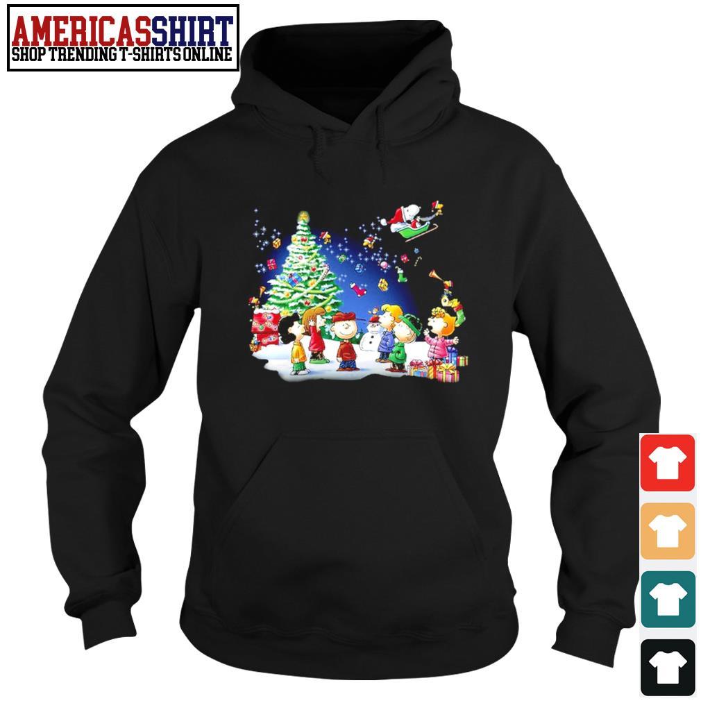Snoopy Santa Claus Peanuts characters Christmas s hoodie