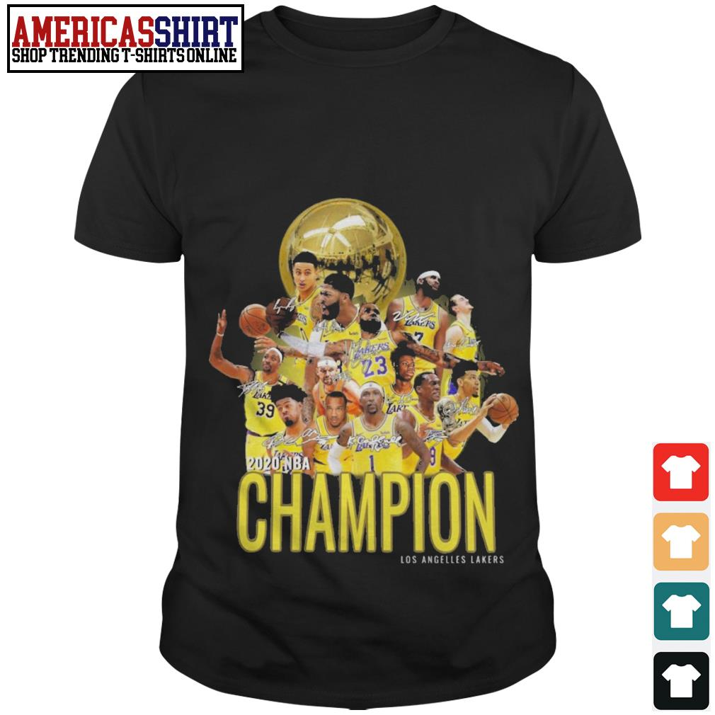2020 NBA Champion Los Angeles Lakers shirt