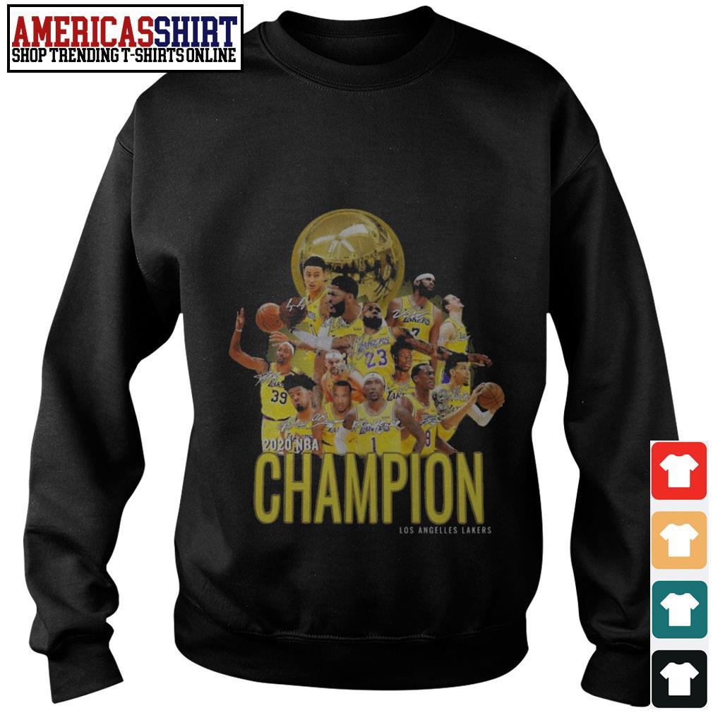 2020 NBA Champion Los Angeles Lakers Sweater