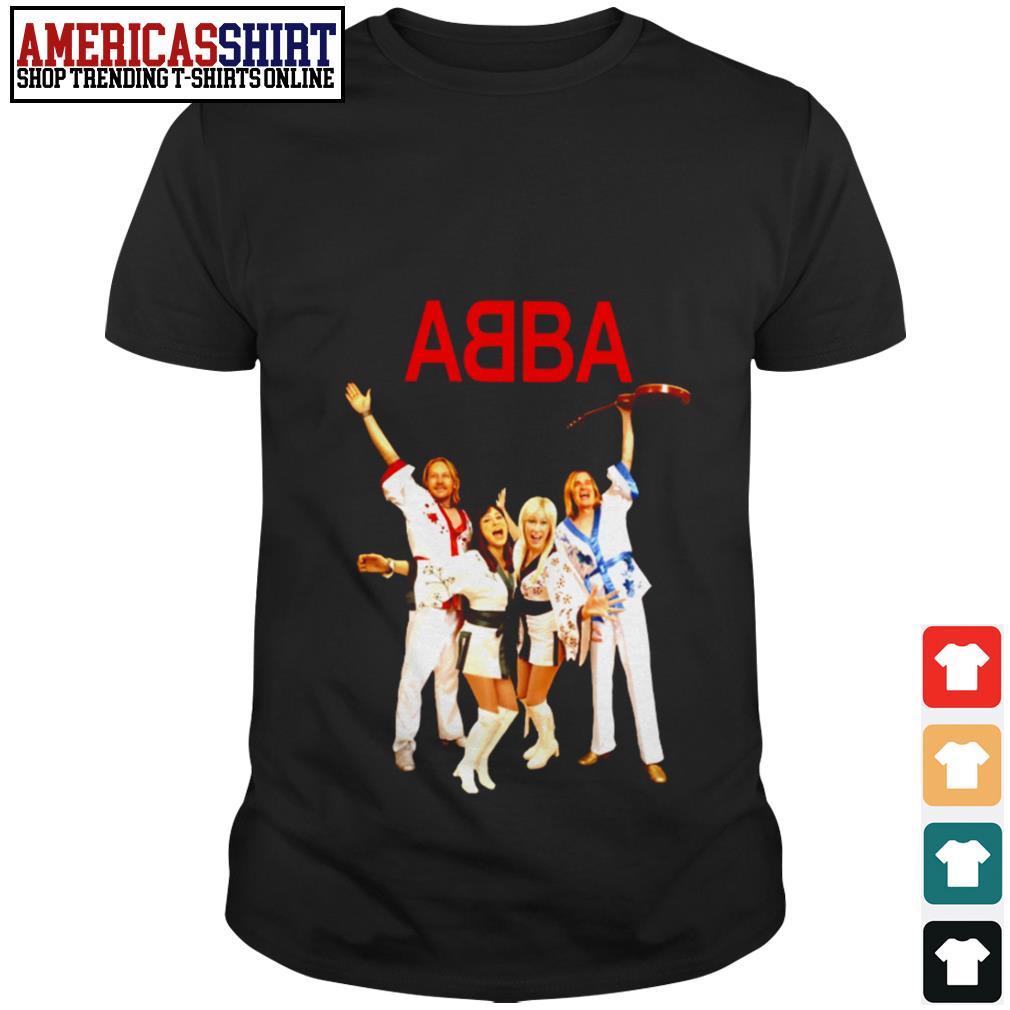 ABBA wear mini kimono shirt