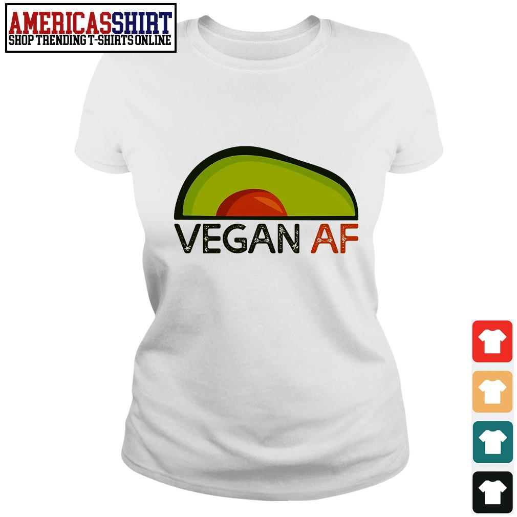 Avocado vegan af Ladies Tee