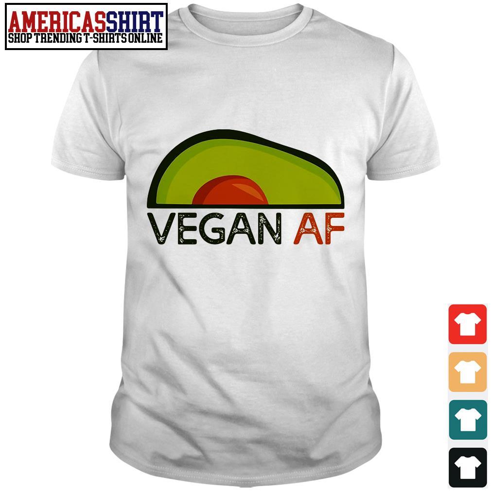 Avocado vegan af shirt