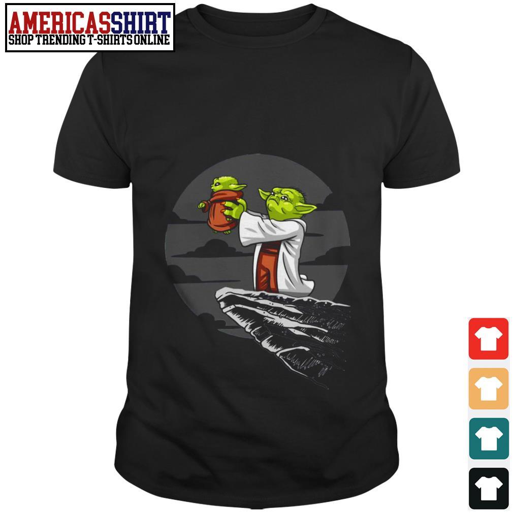 Baby Yoda Star Wars Mandalorian Kawaii Lion King shirt