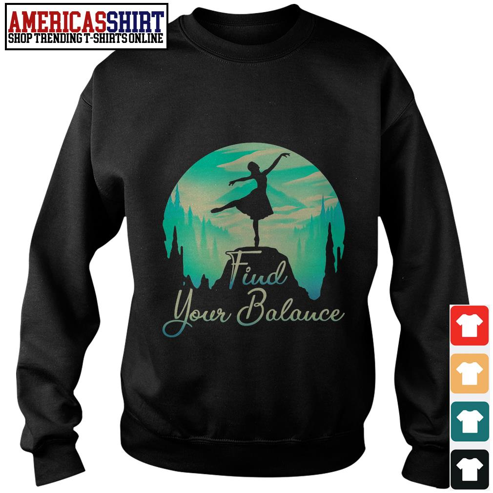 Ballet find your Balance Sweater
