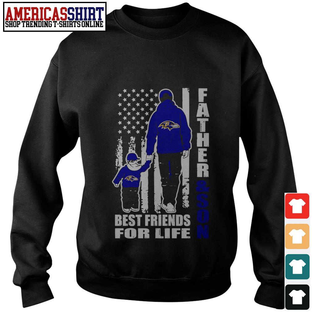 Baltimore Ravens Father and son best friends for life Sweater