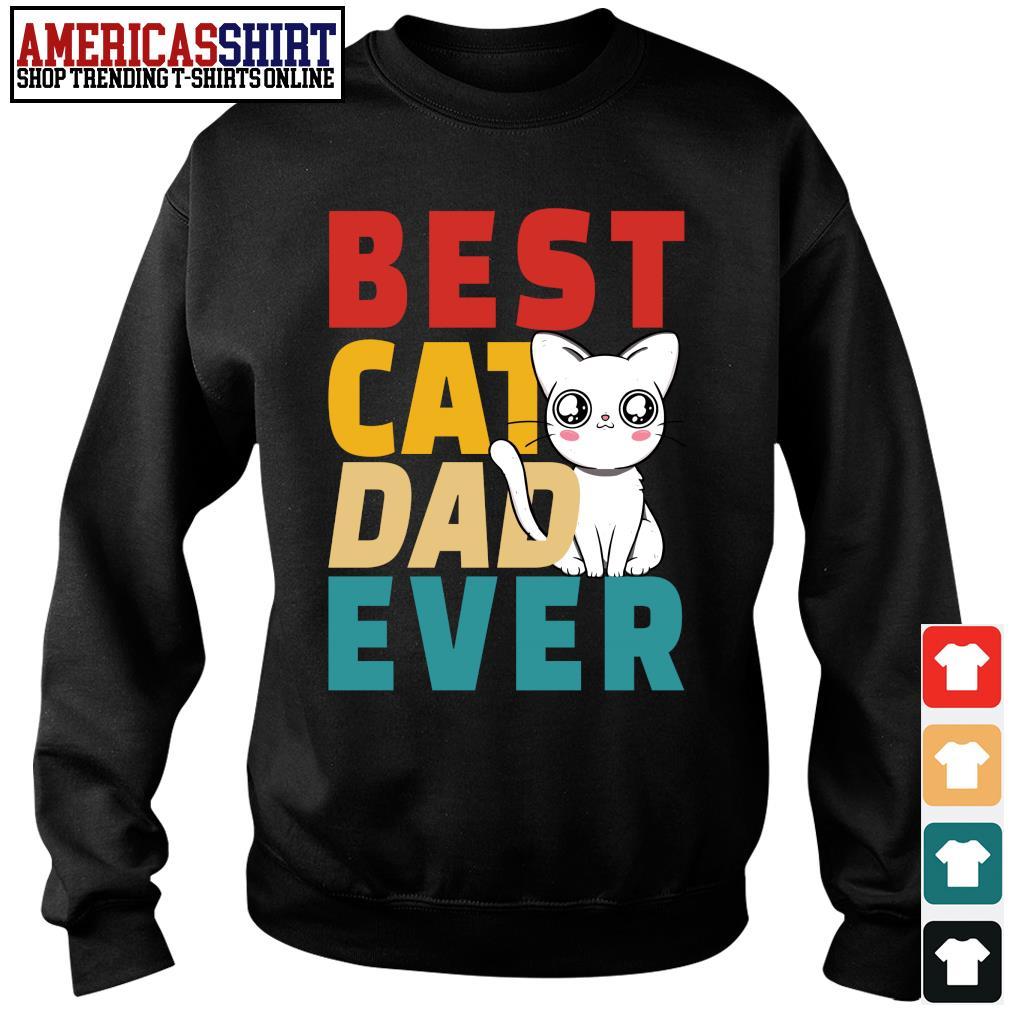 Best cat dad ever vintage s sweater