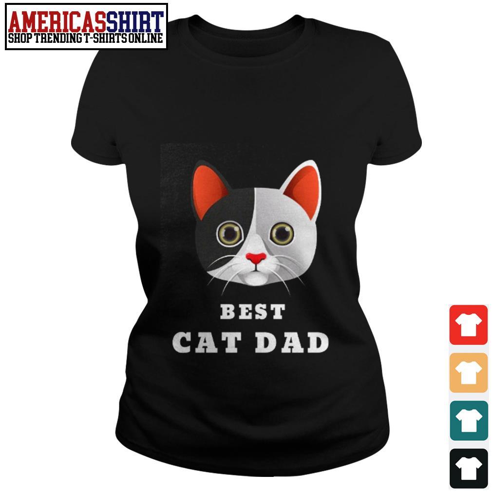 Best cat dad Ladies Tee
