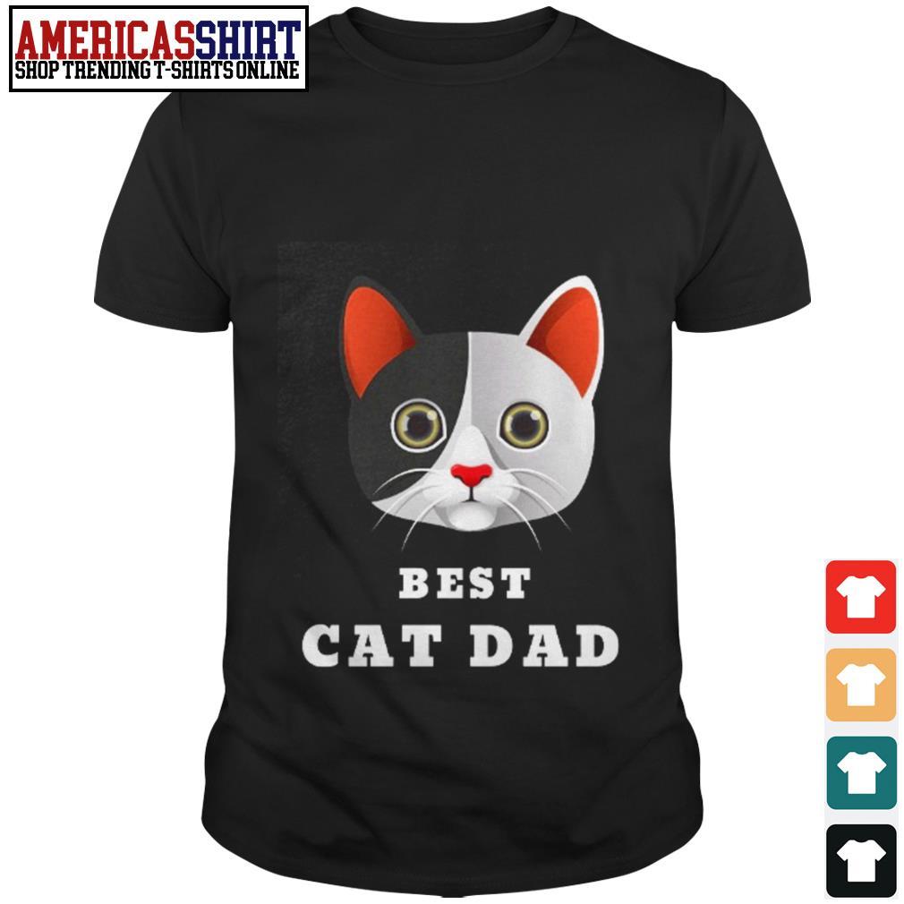 Best cat dad shirt