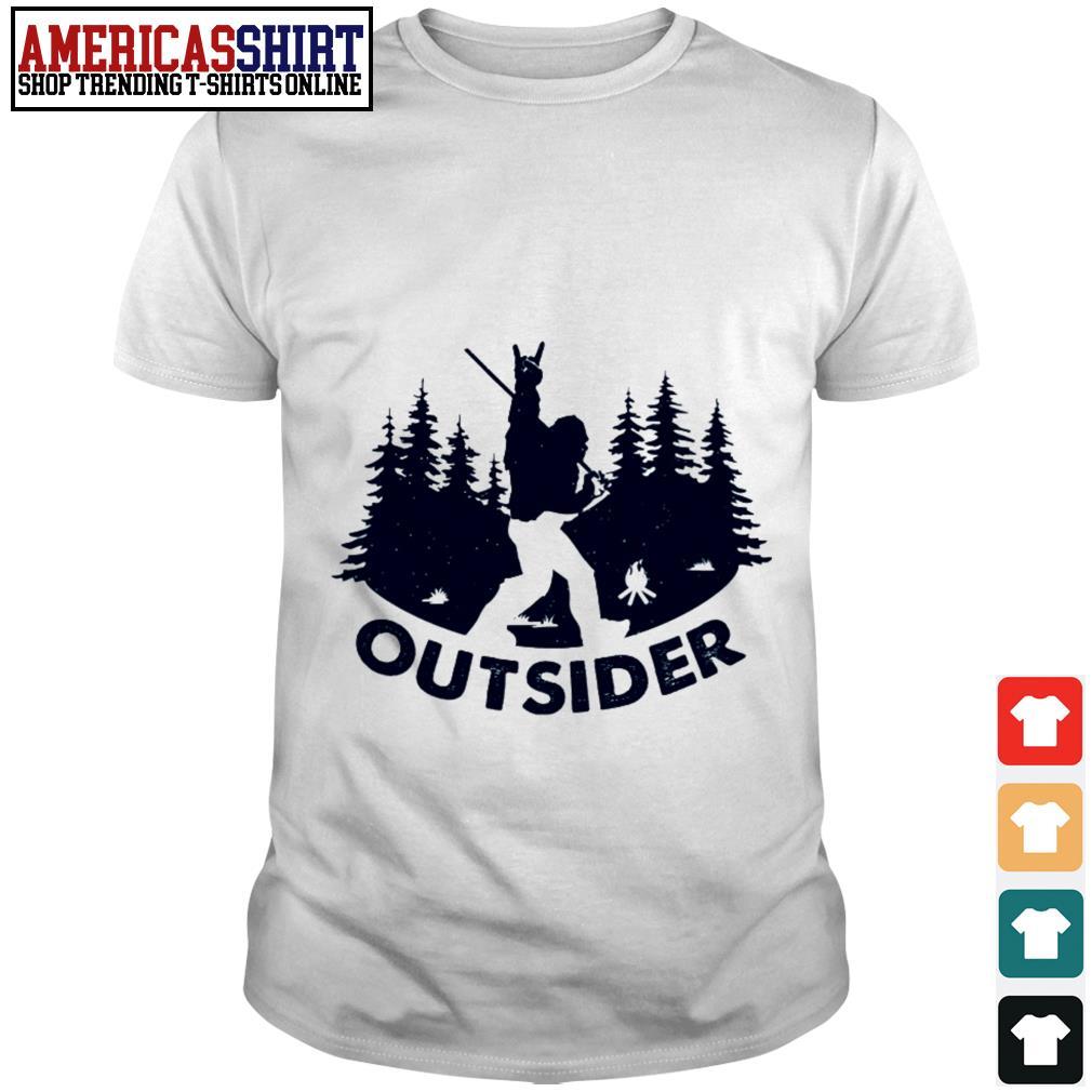 Bigfoot outsider shirt