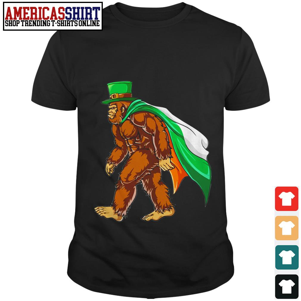 Bigfoot St' Patrick's Day final shirt