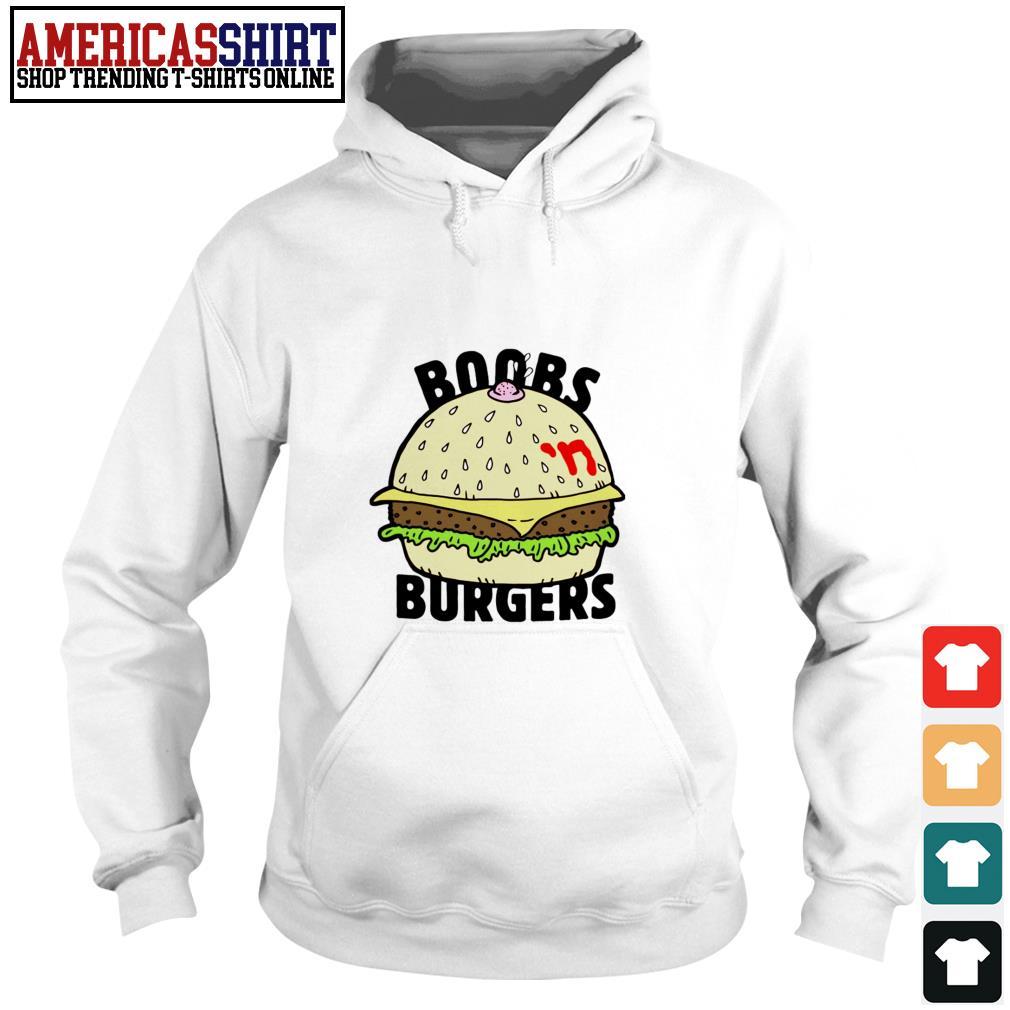 Boobs 'n burgers Hoodie