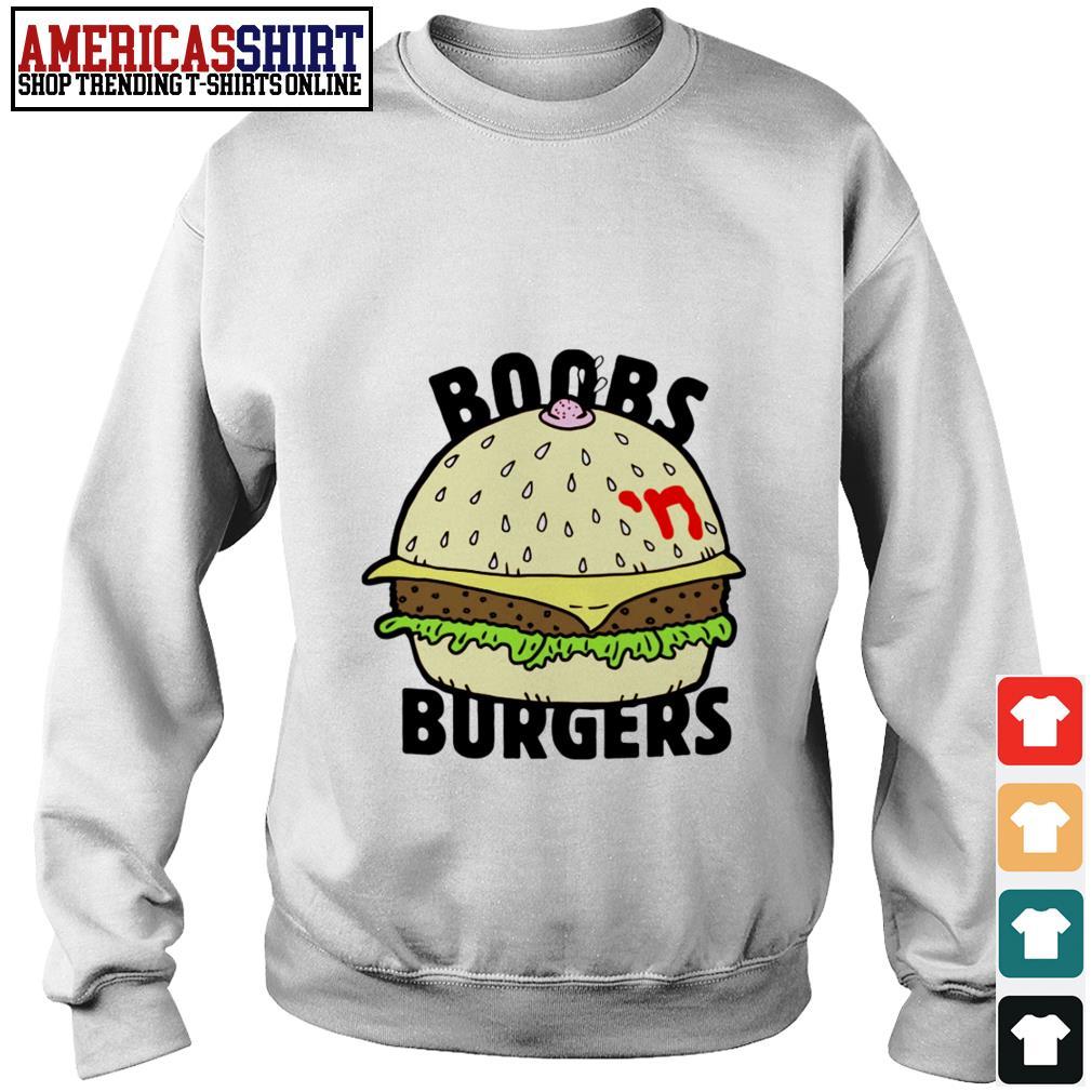 Boobs 'n burgers Sweater