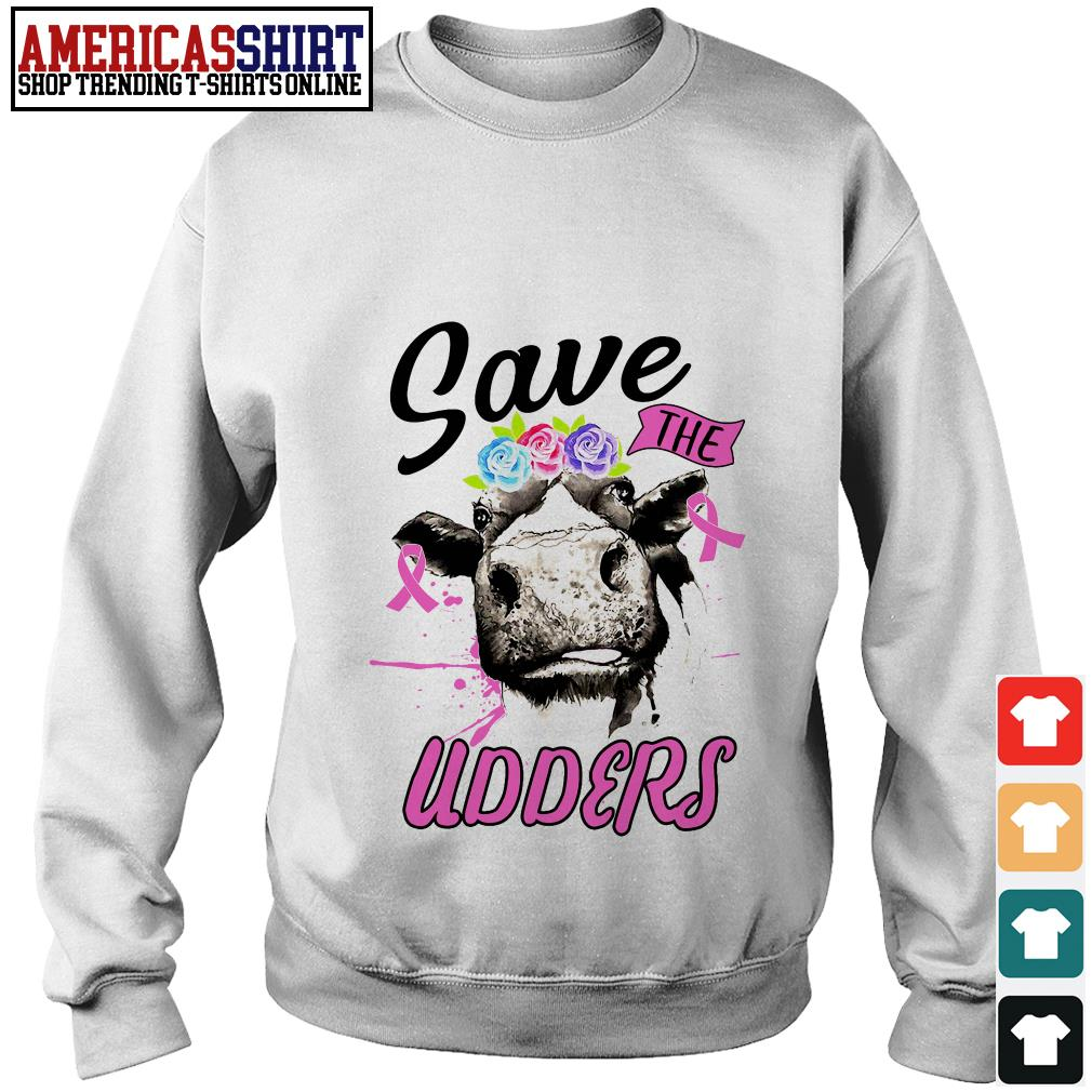 Cow save the udders Sweater