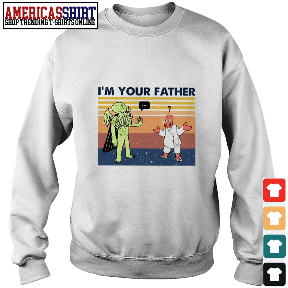 Cthulhu I'm your father vintage Sweater