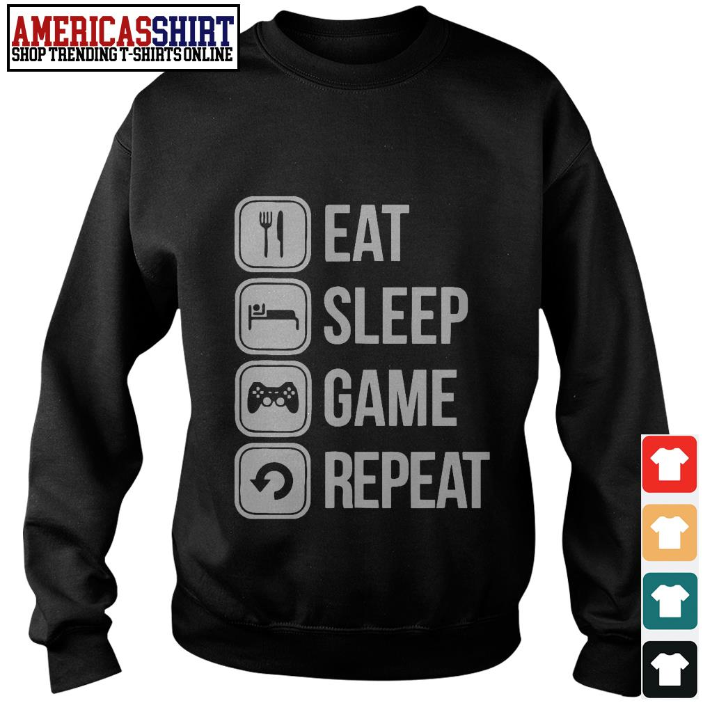 Eat sleep game repeat Sweater