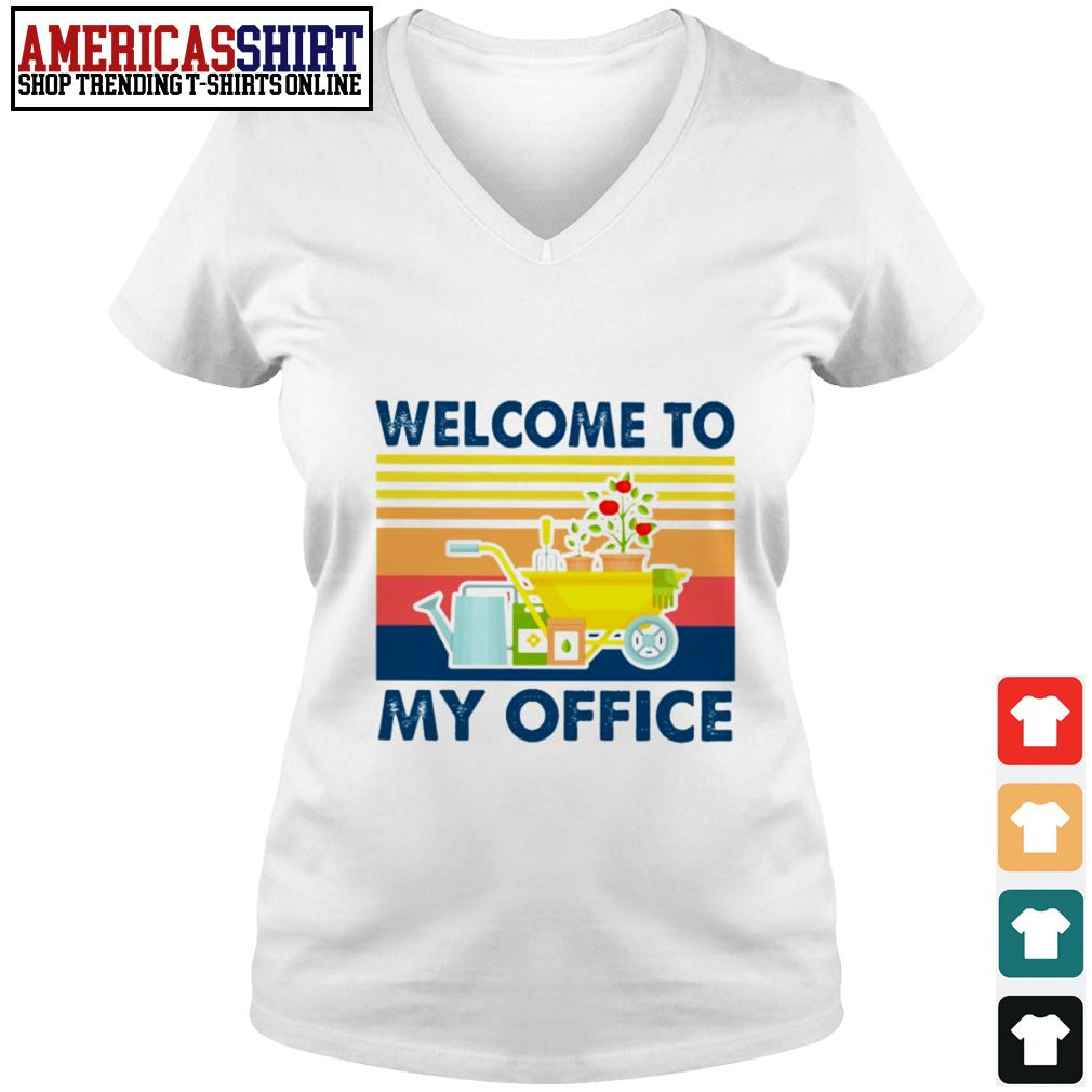 Gardening equipment welcome to my office vintage V-neck T-shirt