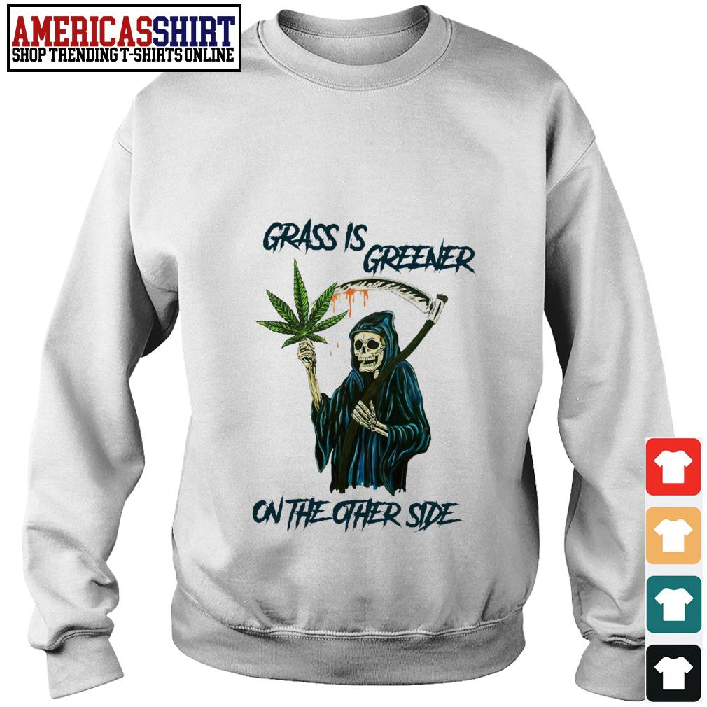 Grass is greener on the other side Sweater