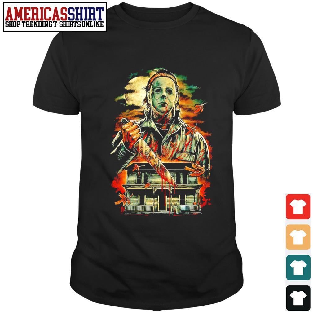 Halloween horror film Michael Myers shirt