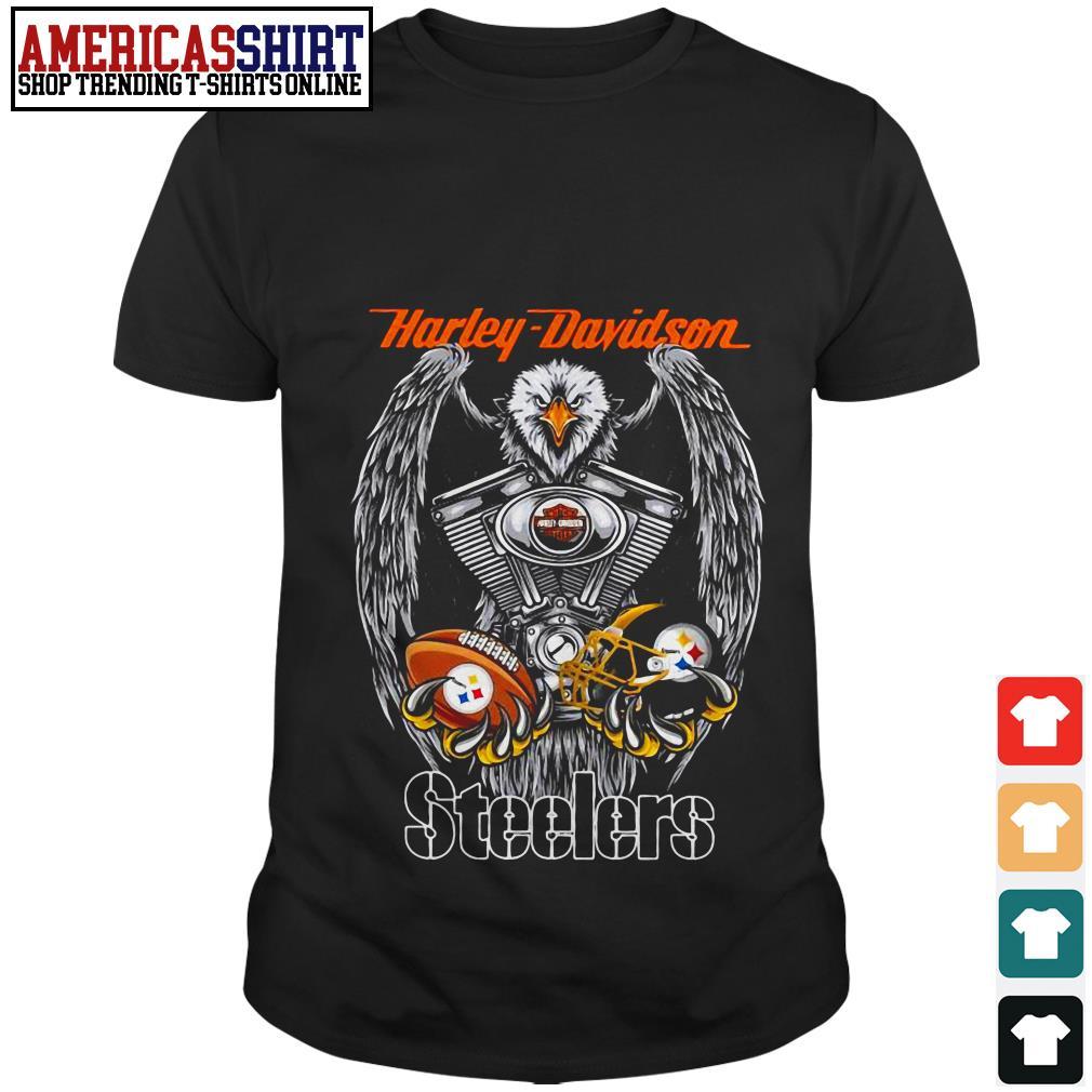 Harley Davidson Pittsburgh Steelers shirt