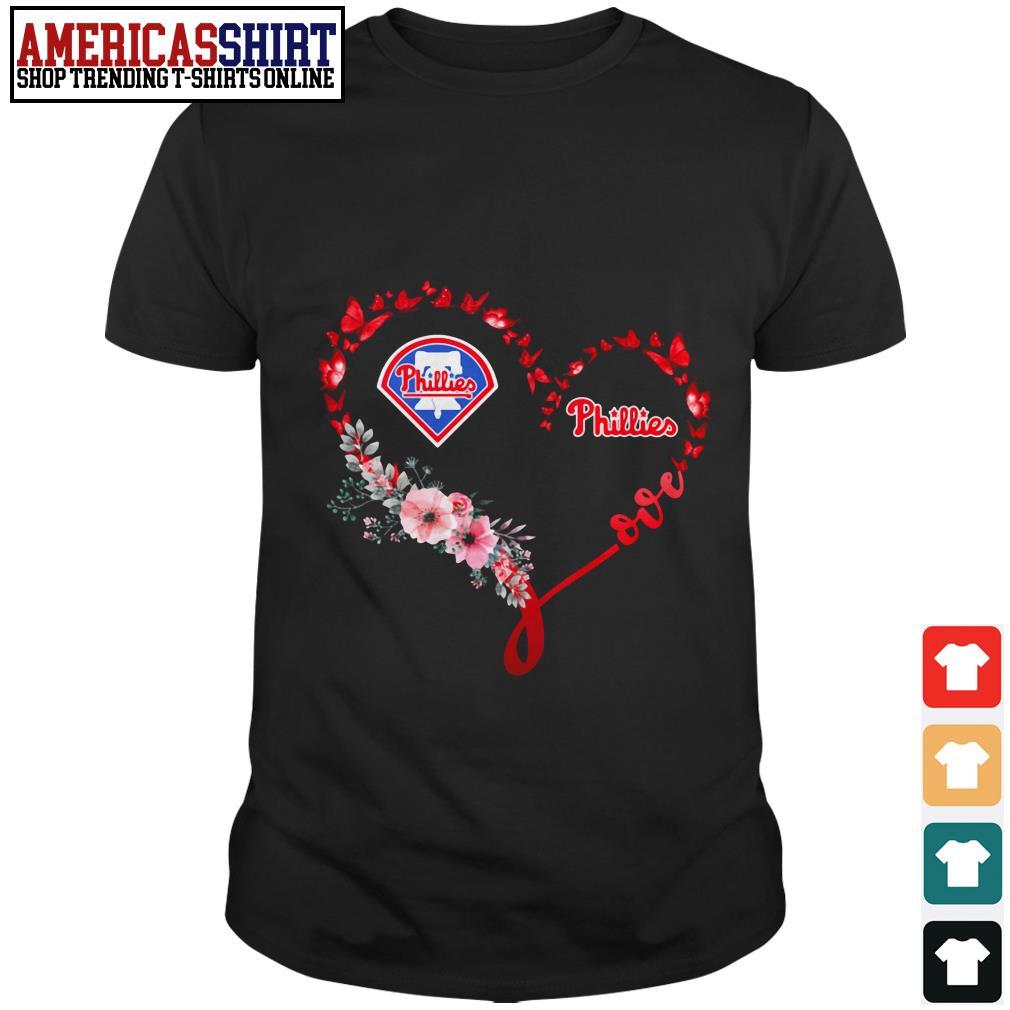 Heart MLB Philadelphia Phillies shirt