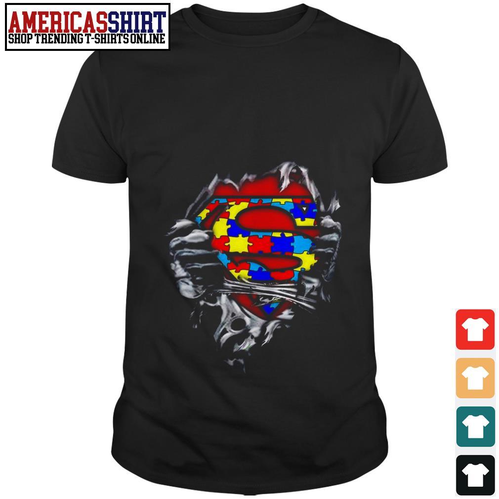 I am superhero Autism Awareness shirt