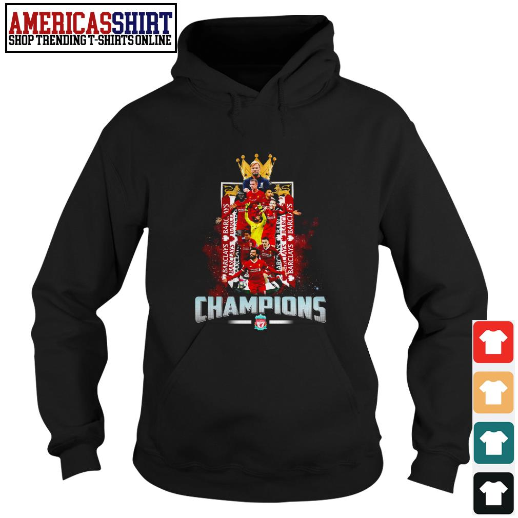 Liverpool FC Champions English Premier League Hoodie
