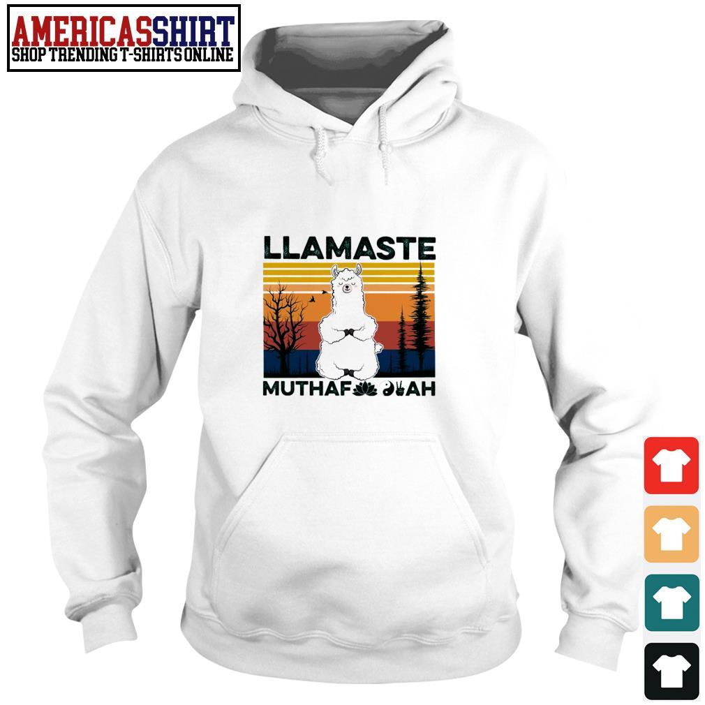 Llamaste muthaf ah vintage Hoodie