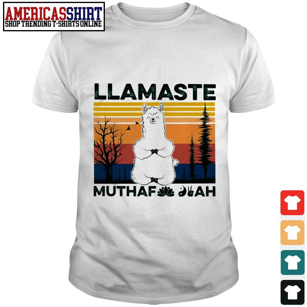 Llamaste muthaf ah vintage shirt