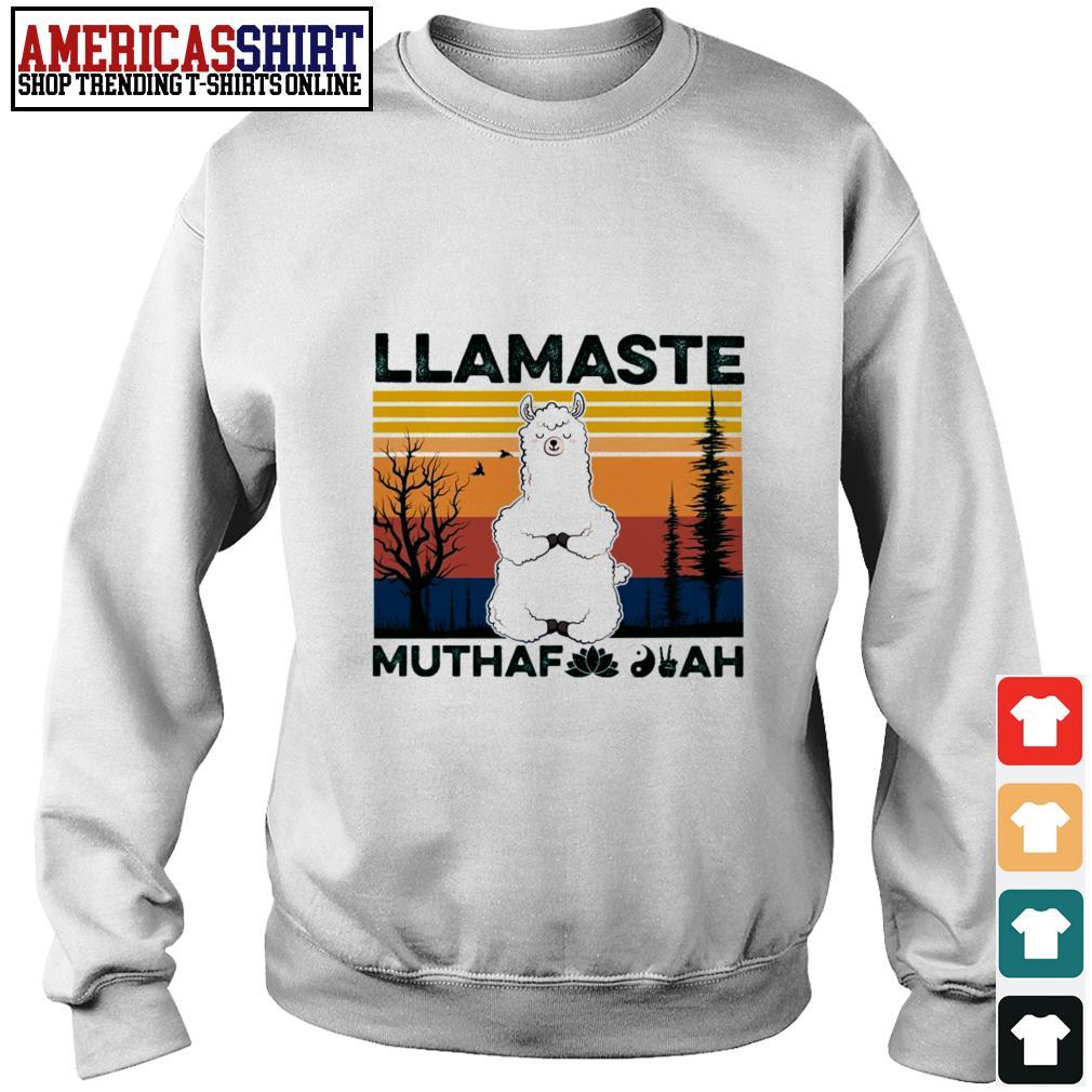 Llamaste muthaf ah vintage Sweater