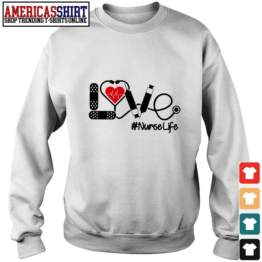 Love nurselife stethoscope Sweater