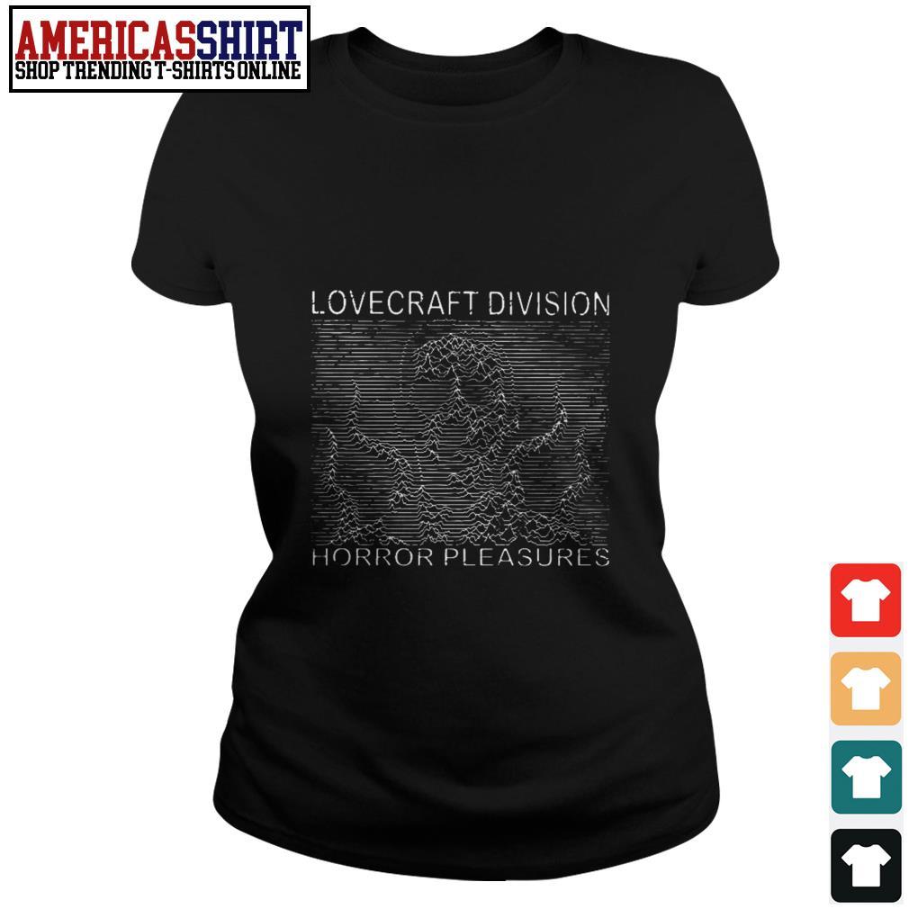 Lovecraft division horror pleasures Ladies Tee
