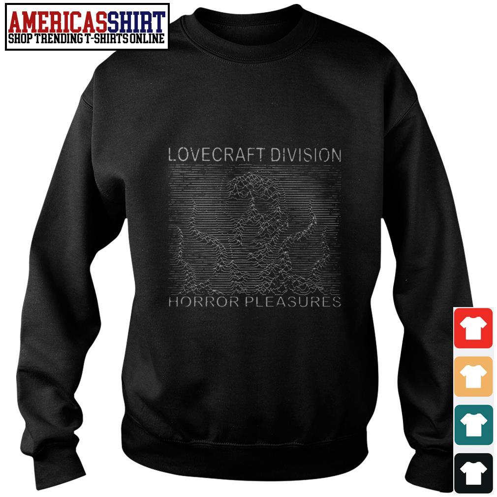 Lovecraft division horror pleasures Sweater